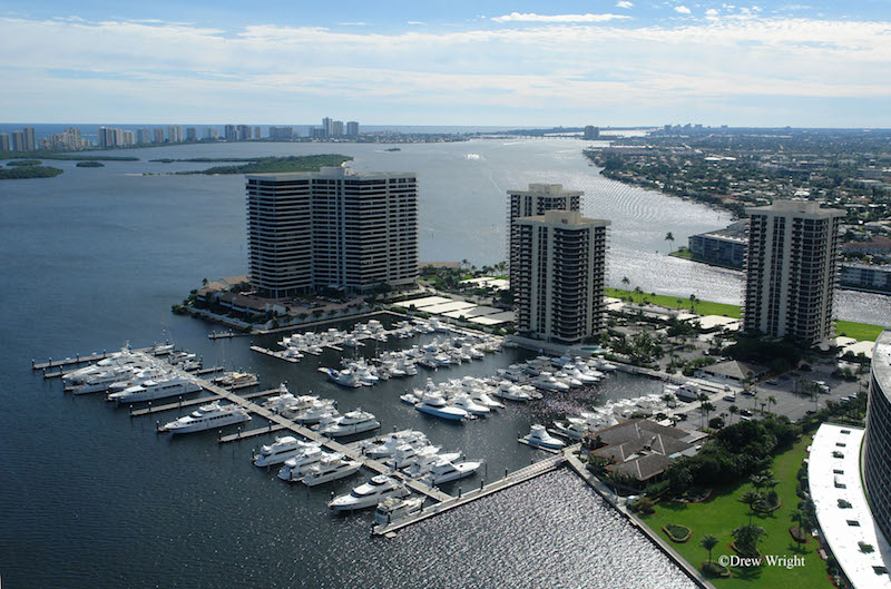 Aerial Shot of Old Port Cove Towers
